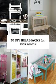 Diy Ikea Bed 10 Awesome Diy Ikea Hacks For Any Kids U0027 Room Shelterness