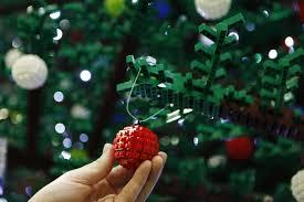 lego unwraps christmas tree at st pancras news architects journal