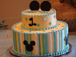 baby mickey mouse birthday cake for paxton u0027s 1st birthday