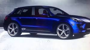 Porsche Macan Midnight Blue - porsche macan s blue youtube