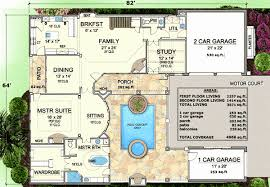 courtyard style house plans tuscan style house plans with center courtyard fashionable