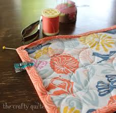 mug rug binding tips the crafty quilter