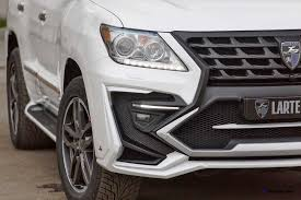 2015 lexus lx 570 white larte design lexus lx570 alligator bodykit