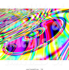 royalty free colourful stock fractal designs