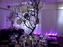 Manzanita Branches Centerpieces Manzanita Crystal Tree Centerpiece Rentals In Brown With Fresh