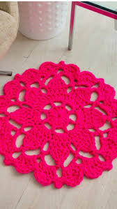 Crochet Bathroom Rug by 55 Best Projects For Upcycled Yarn Images On Pinterest Crochet