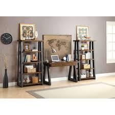 better homes and gardens mercer 5 shelf tower vintage oak