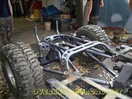 jeep frame warhammer custom build