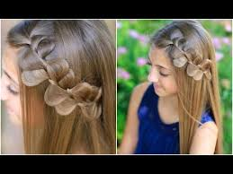 cute girl hairstyles how to french braid hairstyle for girls 4 strand french braid pinback cute girls