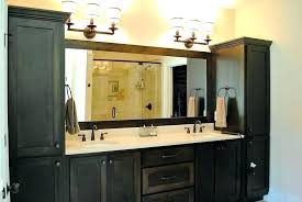 Oak Framed Bathroom Mirror Framed Bathroom Pictures Wooden Framed Bathroom Mirror Back To