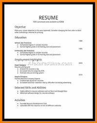 high school student resume exles student resume exles resume for high school student