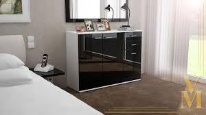 Schlafzimmer Kommoden Schwarz Sideboards Kommoden Hochglanz Carprola For