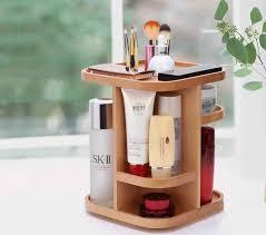 Desk Storage Organizers 360 Degree Rotation Cosmetic Desktop Storage Organizer Tabletop