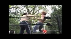 best backyard wrestling justin holler vs matt given swo