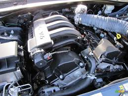 2007 dodge magnum se 2 7 liter dohc 24 valve v6 engine photo
