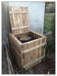 Comment Fabriquer Un Salon De Jardin Avec Des Palettes by Construire Un Composteur Gratuit En Bois De Palette Se Preparer