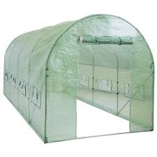 8 X 12 Greenhouse Kits Amazon Com Best Choice Products Sky1917 Walk In Tunnel Green