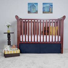 Mini Crib Dust Ruffle by Amazon Com Tailored Crib Bed Skirt Dust Ruffle 15 Inches Long
