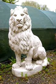 lions statues new replica or reproduction pair of large lion statues salvo uk