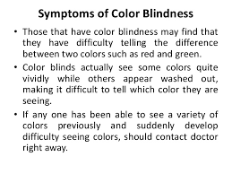 Human Color Blindness Human Color Vision