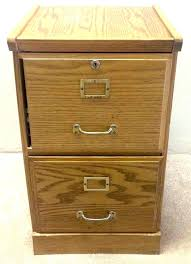 Oak Filing Cabinet 3 Drawer Wood File Cabinets Snaptrax Co