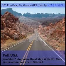 usa map gps garmin usa maps gps sat nav maps america ebay
