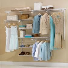 Closet Simple And Economical Solution Budget Basics Cheap Closet Systems Apartment Therapy