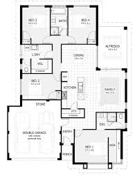 floor plan and furniture placement new home designs perth wa single storey house plans