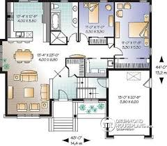 One Story House Plans With Bonus Room House Plan W3448 Detail From Drummondhouseplans Com