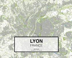 Map Of Lyon France by Lyon France Download Cad Map City In Dwg Ready To Use In