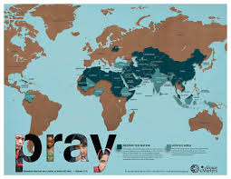 Religion Map Usa by The Voice Of The Martyrs Canada December 2011