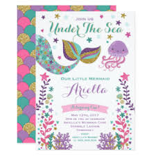 the sea party the sea birthday party invitations announcements zazzle
