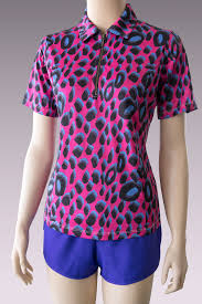short sleeve u2013 jungle pink womens plus size golf clothing