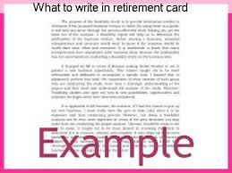 words for retirement cards what to write in retirement card homework help