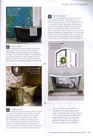 the usk cast iron bath with polished and lacquered exterior from