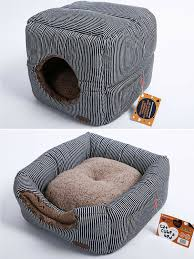 amazon com unique 2 in 1 cat bed cat condo u0026 cat house a cat