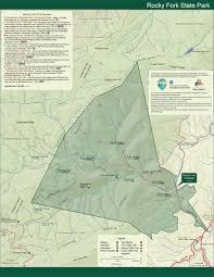 Topographical Map Of Tennessee by Park Trail Maps U2014 Tennessee State Parks