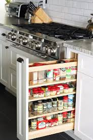 kitchen spice rack ideas putting drawers in kitchen cabinets best 25 pull out shelves ideas
