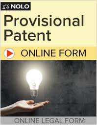 online provisional patent application invention patent pending