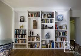 Made Bookcase Custom Made Bookcase White By Serrao Cabinets U0026 Design