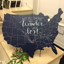 wooden united states wall united states map artwork personalized wood wall american map