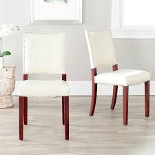 Cream Dining Chairs Mcr4556k Set2 Dining Chairs Furniture By Safavieh