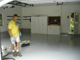 painting garage floors best epoxy garage floor paint