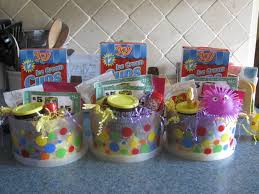 gift mugs with candy cups or coffee mugs filled with candy and goodies for easter