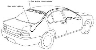 toyota camry antenna repair guides entertainment systems antenna autozone com