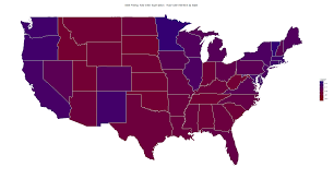 Florida Election Map by Msn Polling U2013 Predictwise