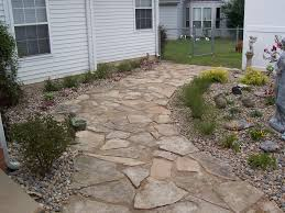 Flagstone Patio Installation Cost by Exterior Ideas Pavers U0026 Flagstone Patio Ideas Here Are 3