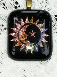 glass star pendant necklace images 197 best sun moon stars images sun moon sun moon jpg