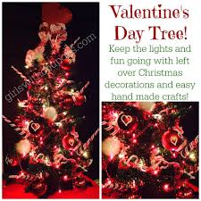 valentines day tree with coupons