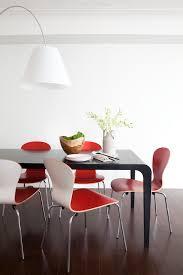 Dark Red Dining Room by Designer Visit Fiyel Levent And Rebecca Thienes In Manhattan